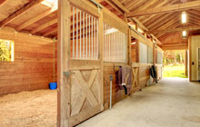 Woodcote Green stable construction leads